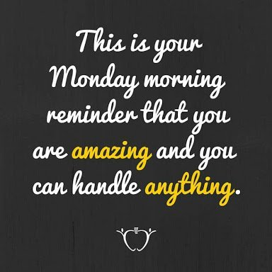 #MotivationMonday #MondayMotivation We are to remind you that: Photo