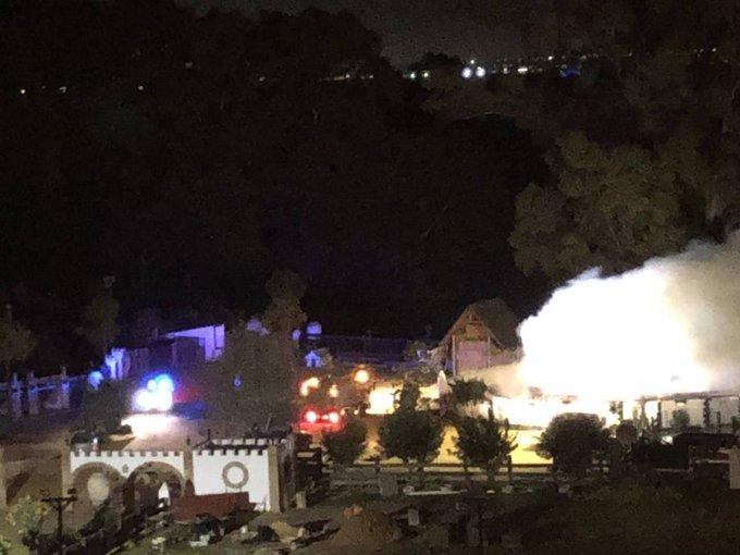 Extinguido un incendio en una finca del torero Morante en el municipio de La Puebla del Río (Sevilla) Foto