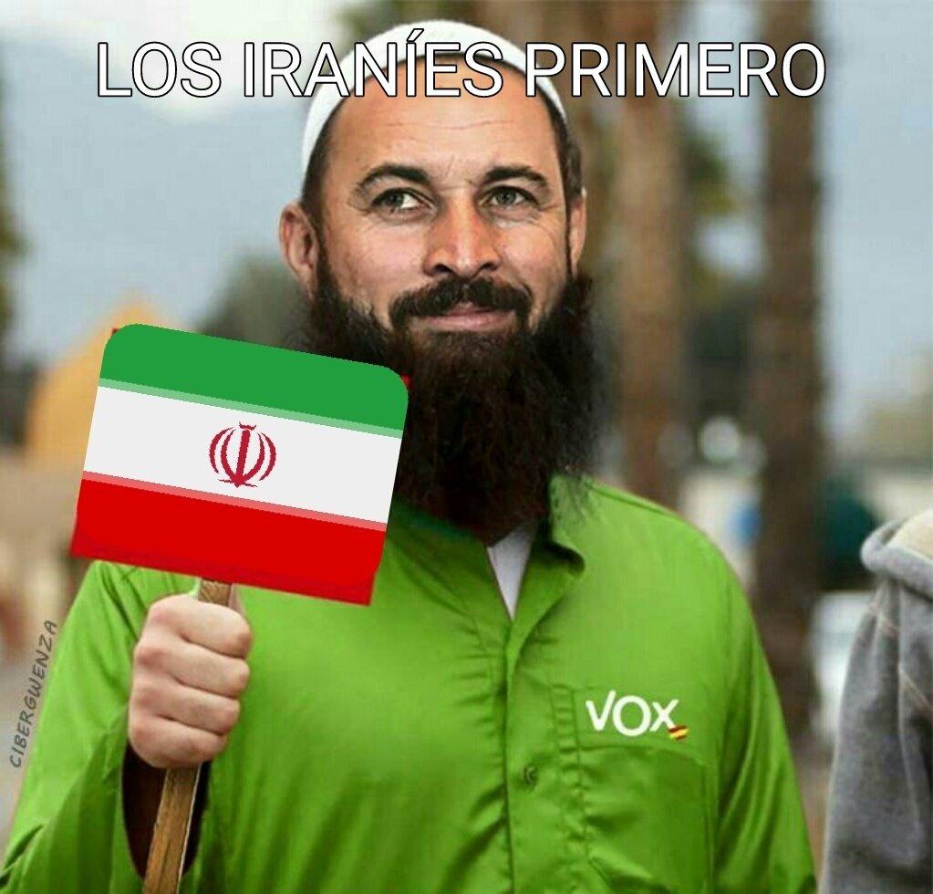 VOX FUE FINANCIADO POR IRAN Dw3GFqpW0AAXMYU