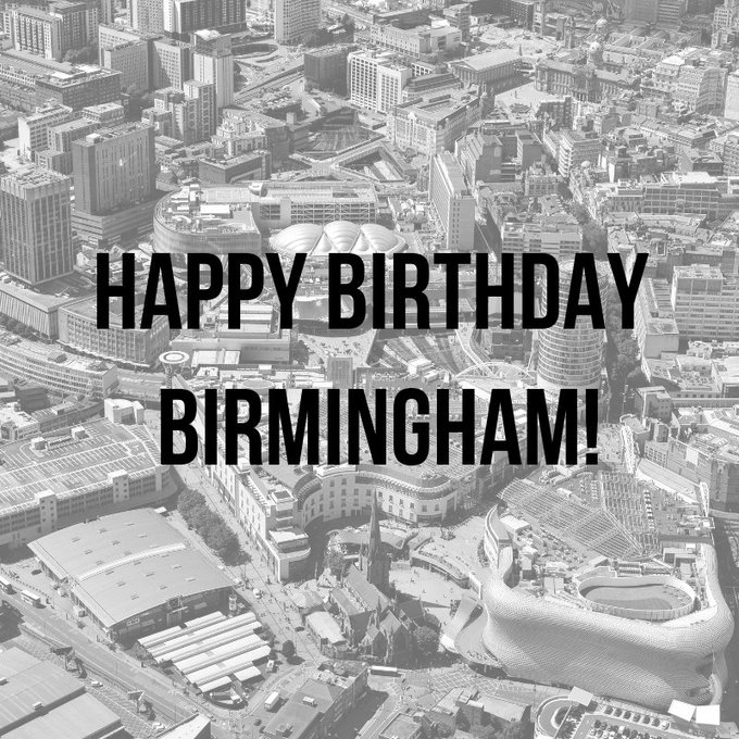 Happy birthday #Birmingham! Today marks 130 years since Birmingham was granted city status. To celebrate, there will be a free public event in Victoria Square today from 4-6pm where the @BhamCityCouncil house will be lit up with digital projections and live performances. #Brum130 Photo