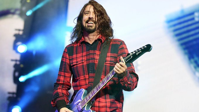 Happy 50th Birthday to the legend Dave Grohl! Have the best day dude!
