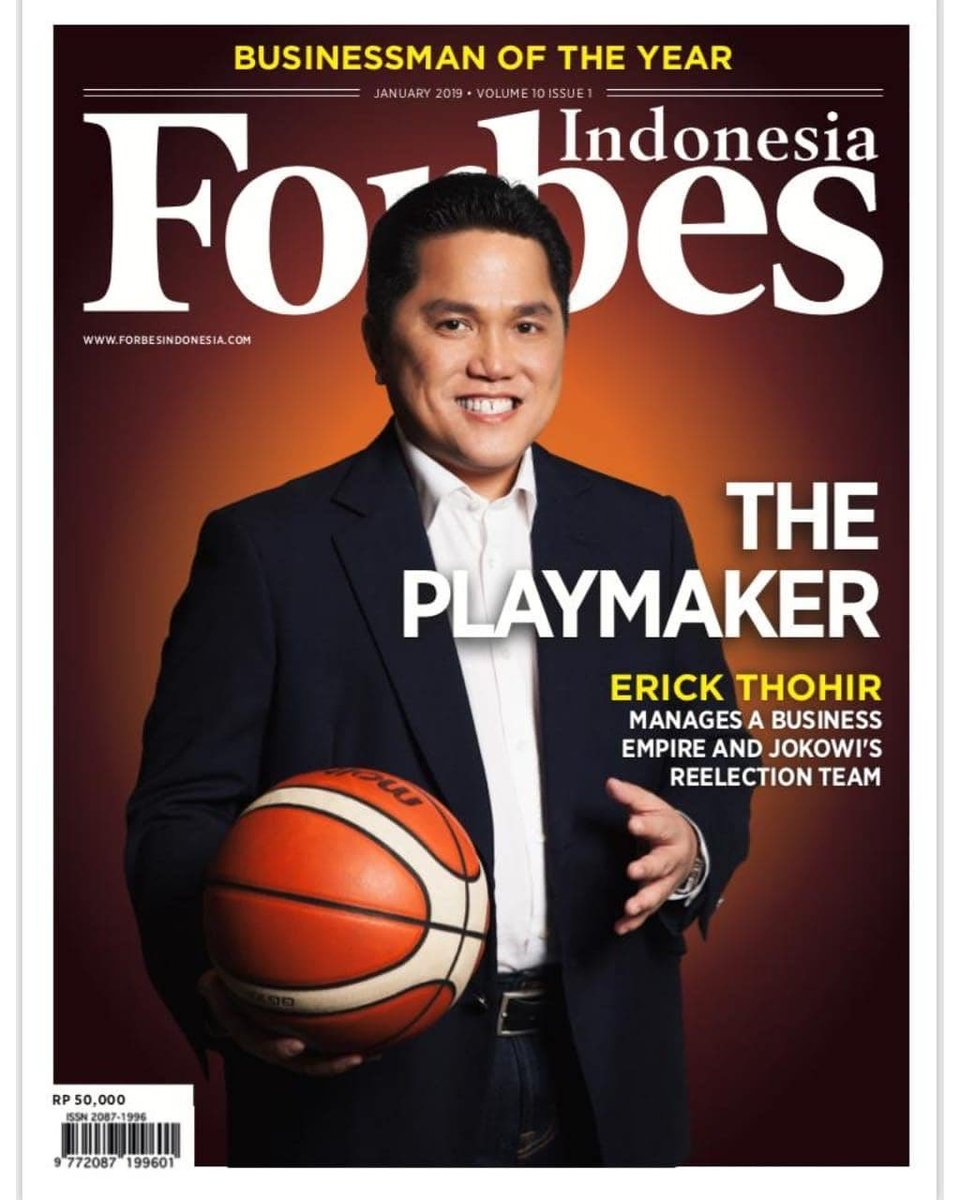 - Businessman of the year - (Forbes Indonesia)   #Thohir