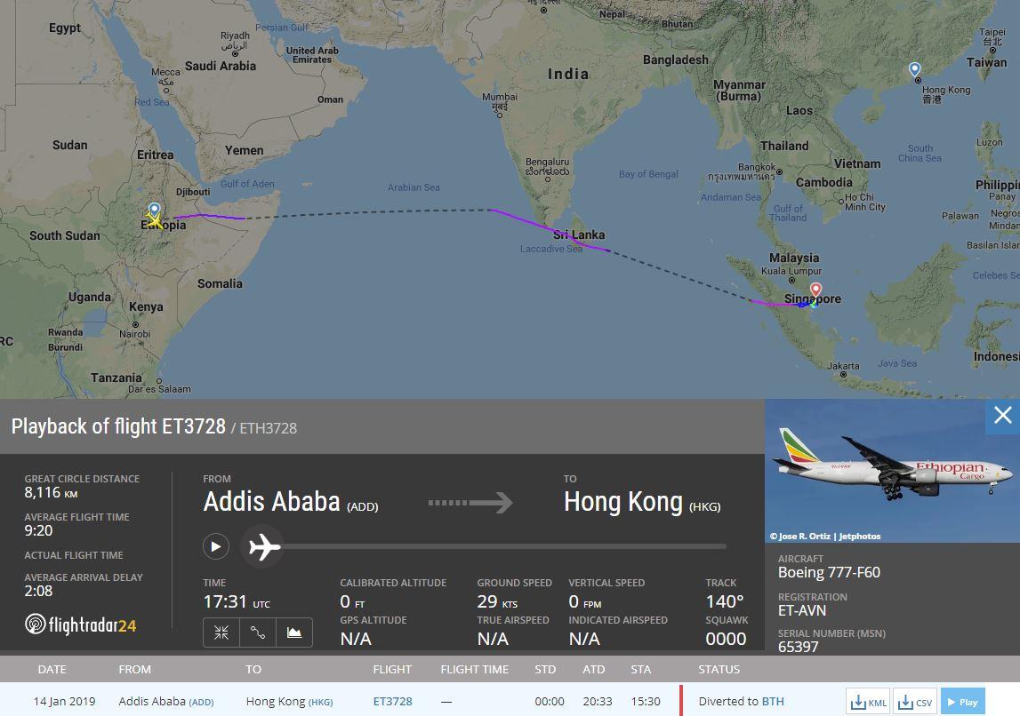 flightradar24 on twitter ethiopian cargo flight eth3728 from rh twitter com