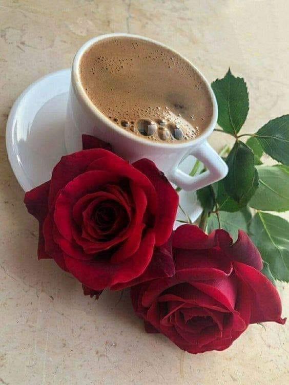 Тебя ждут, картинки кофе и цветы для тебя