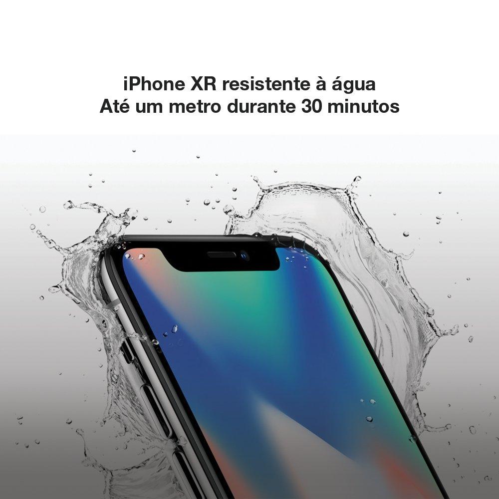 O iPhone XR é resistência à água, respingos e poeira. Classificado como IP67 (profundidade máxima de um metro por até 30 minutos) segundo a norma IEC 60529.  Na NoteTec, você pode adquirir um iPhone XR de 256GB por 12x R$ 460,88 sem juros. Aproveite!  >>> https://t.co/Jc9NeUYaF1 https://t.co/SKS1x4GEzo