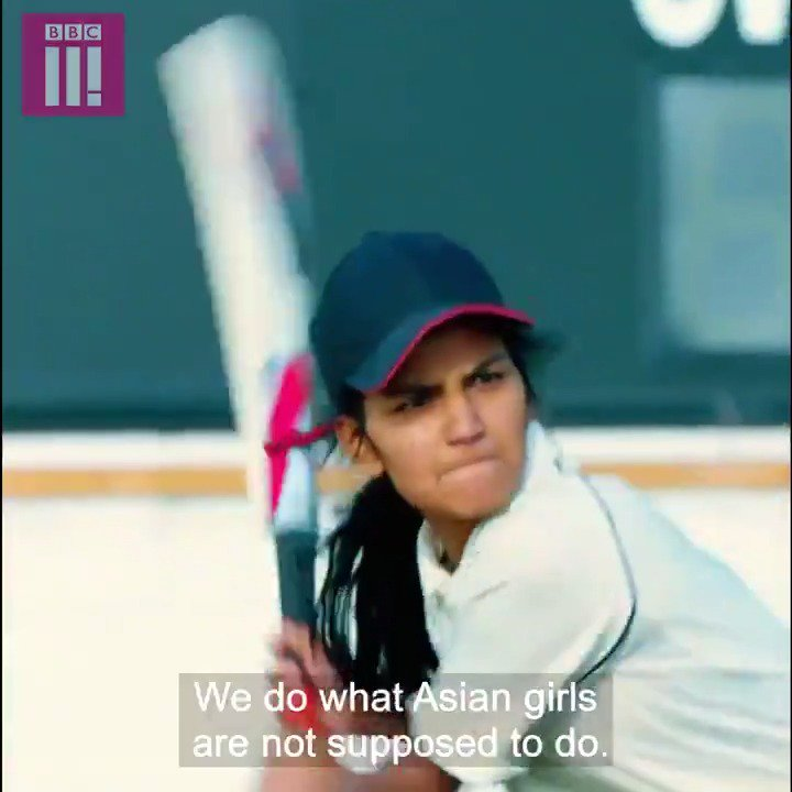 We do what Asian girls from Bradford are not supposed to do – and we are good at it. Bats, Balls and Bradford Girls | @BBCThree.