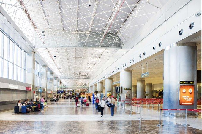 Récord histórico en los aeropuertos de la red de Aena que cierran 2018 con más de 263,7 millones de pasajeros. Foto