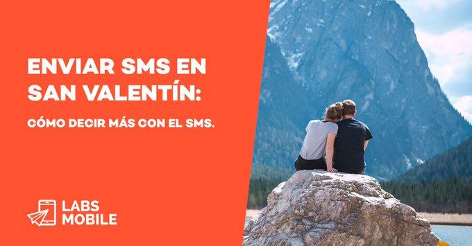 Prepara ya el San Valentín. ¿Cómo conseguir romper moldes? Claves para diseñar campañas de SMS marketing originales por San Valentín. #sanvalentin #felizlunes Foto