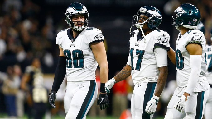 We Will Be Back. The #Eagles are expressing their thanks for the success this season and staying positive about the future. #FlyEaglesFly Photo