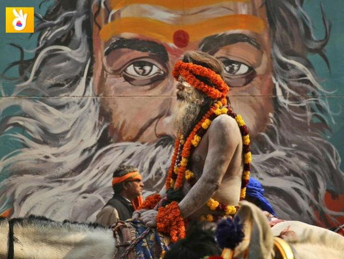 Too many things to ask too many things to know but whom to tell? Tell us and we will explore Kumbh Mela the way you wish.#KumbhwithWelike (Photo Credit : AFP) Photo