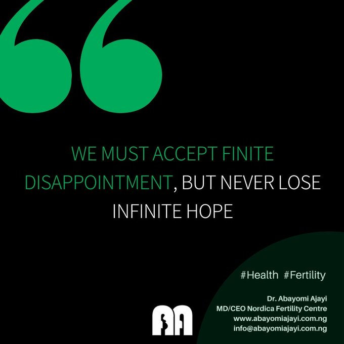 """We must accept finite disappointment, but never lose infinite hope"" #Hope #MotivationMonday Photo"