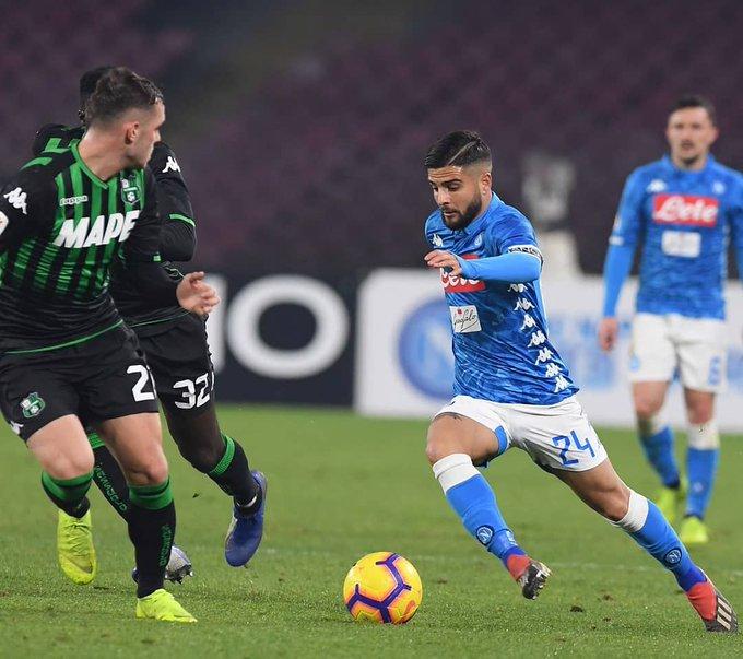Prima vittoria del 2019 👍🏻💙 #CoppaItalia #ForzaNapoliSempre Foto