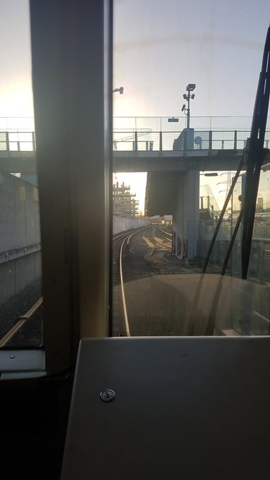 Got to pretend to drive the dlr this morning #itsthelittlethings #MondayMorning Photo