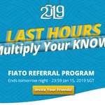 Image for the Tweet beginning: 🌟FIATO New Year 2019 Referral