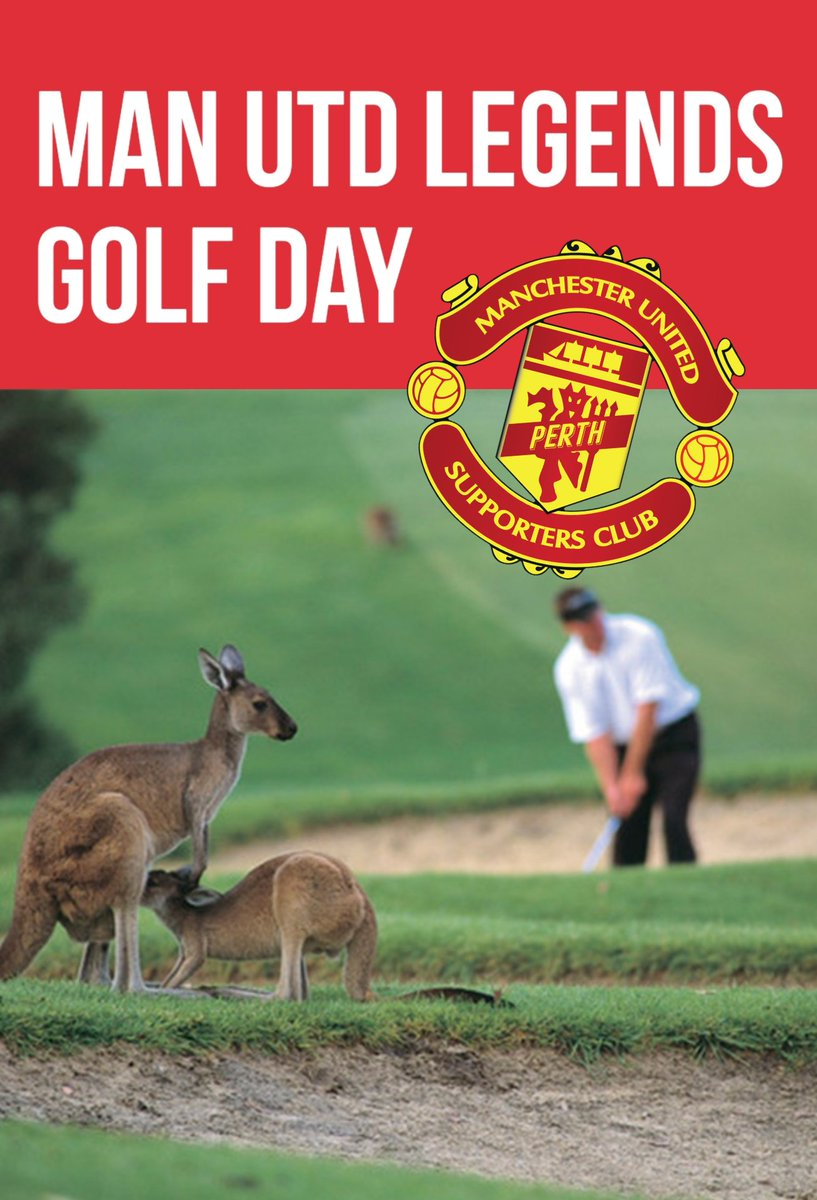 The Man Utd Legends Golf Day is a once in a lifetime experience for the passionate Manchester United supporter.  https://optusstadium.com.au/whats-on/united-in-perth-man-utd-legends-golf-day …  #perthwesternaustralia #mutour #unitedinperth  #seeperth #optusstadium #perth #manchesterunited #manutd #united #pmusc #mufc #perthmusc