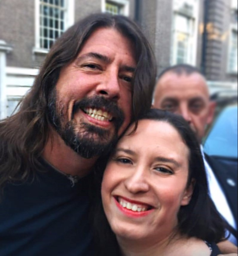 Happy 50th Birthday to the legend Dave Grohl