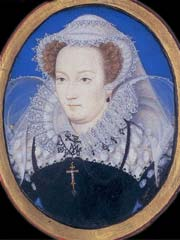 Two queens in one isle; the rivalry of Elizabeth I and Mary Queen of Scots - only in Mary Queen of Scots magazine: #HistoryScotland #MaryQueenOfScots Photo