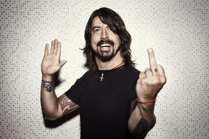 Happy Birthday 🎈#DaveGrohl 5️⃣0️⃣ Foo Fighters 'Everlong' (Acoustic) Foto