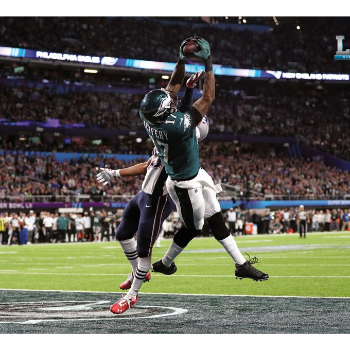 To anyone that has a problem with this absolute star. I'll just leave this here. #Eagles #FlyEaglesFly Photo
