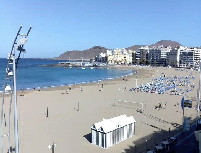 Mediodía espectacular. Poca calima Marea vacía #felizlunes 🌺 Foto