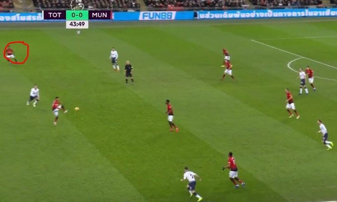 This goal shows everything about Jesse, Pogba and Marcus. Jesse brilliant at cutting the ball out and playing it one touch, Marcus already on the knowing Pogba's ability with the pass. 💯 Photo