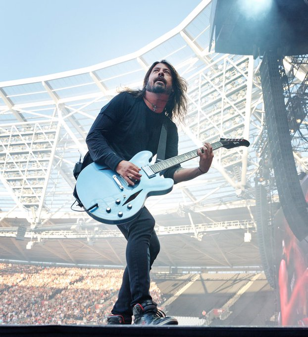 Happy 50th Birthday to the legend that is Dave Grohl