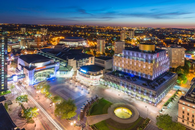 130 years ago today, Birmingham was granted city status 🏙️ What do you 💙 most about our wonderful city? #Brum130 Photo