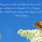 Image for the Tweet beginning: #LearnedLiving #AgingGracefully