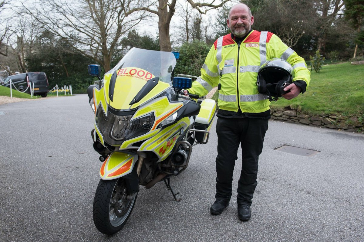 #heartbroken at the loss of one of our very own #volunteers. Burt was diagnosed with a brain tumour. His battle was one of courage, dignity, &amp; determination. CBB have lost a pure diamond! Ride safe our very dear friend..... #GoneButNeverForgotten <br>http://pic.twitter.com/JW6zk74Eng