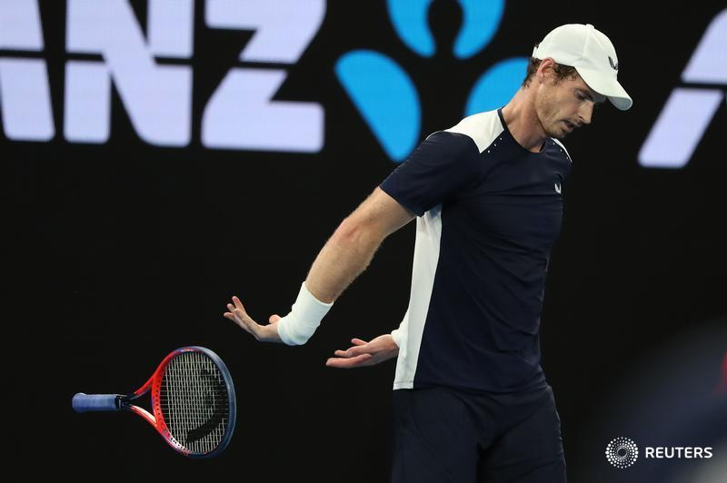 JUST IN: Former world number one Andy Murray knocked out of #AusOpen first round