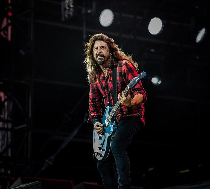 The one and only Dave Grohl turns 50 today!  Happy Birthday, Dave!