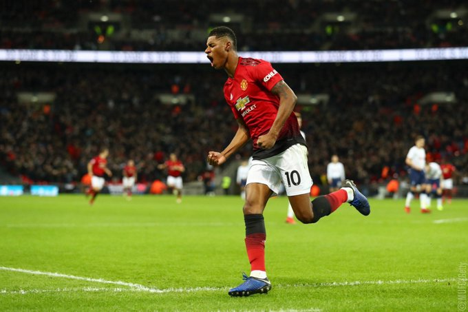 ⚽️ Goals scored after 149 games for Manchester United: 🌟 Marcus Rashford: 40 goals 🌟 Cristiano Ronaldo: 31 goals Photo