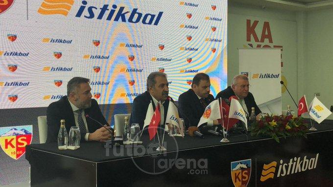 Kayserispor ile İstikbal Mobilya arasında yapılan isim sponsorluğu anlaşmasının bedeli yıl için toplamda Milyon TL. Fotoğraf