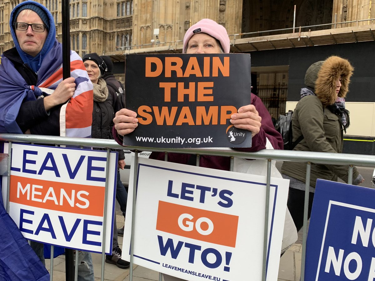 Same phrase, new place. #brexit #DrainTheSwamp