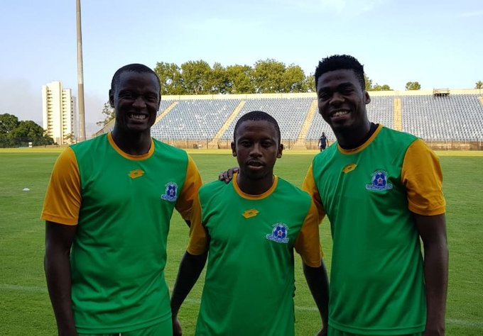 DONE DEALS: Maritzburg United confirmed that Thabiso Kutumela has joined the club on a three-year deal while Mpho Matsi and Judas Moseamedi have joined on loan until the end of the season. #DiskiFans Photo