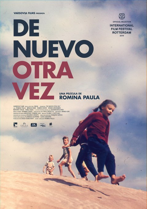 Los fans de Romina exigimos que su ópera prima sea tan linda como ella y como su afiche. Foto