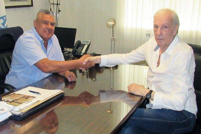 César Luis Menotti fue presentado como nuevo Director de selecciones nacionales Foto