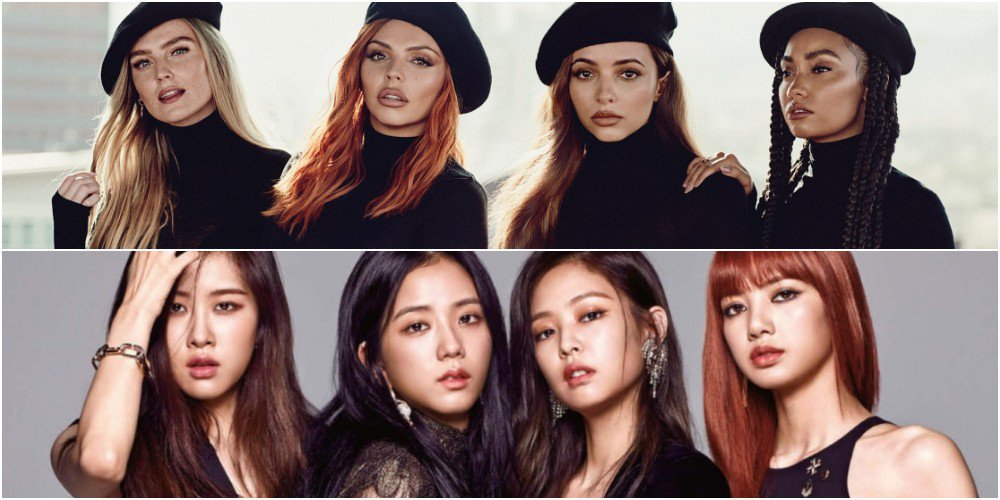 British girl group Little Mix expresses their wish to collaborate with #BLACKPINK https://t.co/VPC821QYzb