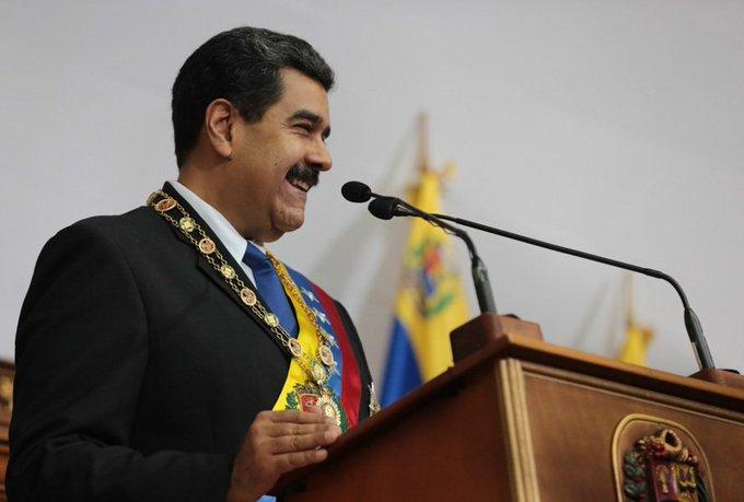 #EnDirecto 🔴| Pdte. @NicolasMaduro: En 2018 logramos la cifra histórica de asignar el 74,7% de nuestro presupuesto a la inversión social (…) rompemos todos los esquemas neoliberales #MaduroMemoriaYCuentaANC Photo