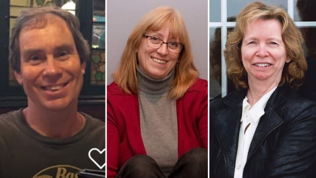 Our hearts are hurting for the families who lost these loved ones in the horrific #OttBusCrash at #WestboroStation on Friday. Bruce Thomlinson, Judy Booth, and Anja Van Beek - you will all be remembered. Our prayers and condolences, sending love. Photo