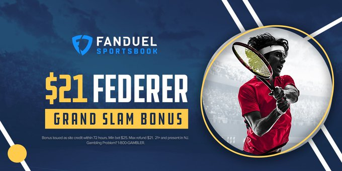 Australian Open Grand Slam Bonus: Federer Place a bet on Roger Federer to win the Australian Open. If he ends up winning, get a $21 bonus in site credit! Think Roger can capture his 3rd straight Australian Open title? (7th career) More below 👇 ➡️ Photo