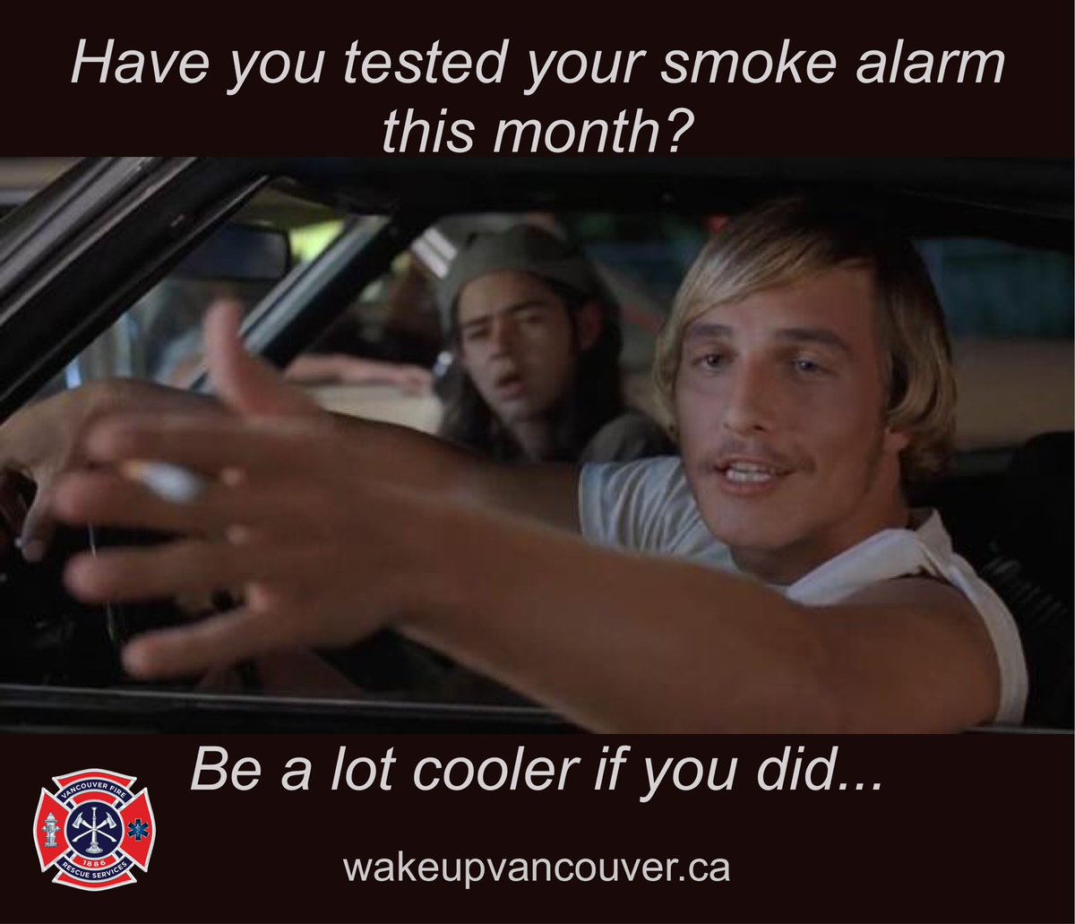 Vancouver Fire Rescue Services On Twitter If You Re Not Testing
