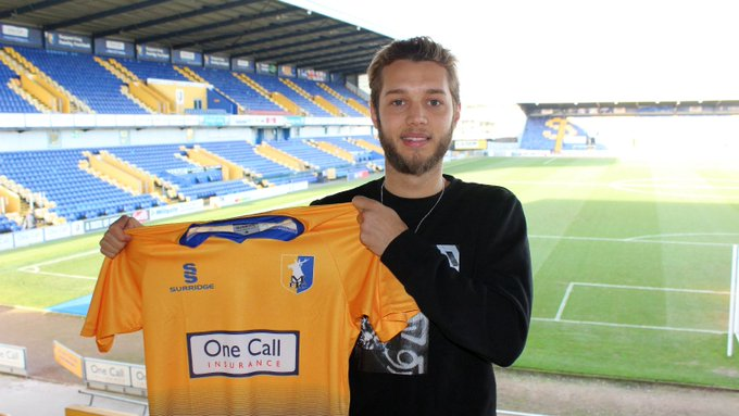 INTERVIEW: Creative attacking midfielder @JorgeGrant18 says he 'can't wait' to be playing alongside 'best friend' @tylerjandrew1, adding that the pair linked up well in their first training session as #Mansfield Town players. 🙌 Read more: Photo