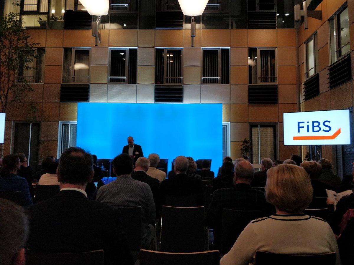 Eröffnung der @FiBS_Research Veranstaltung Qualifizierung an und für Berlin #futureskills