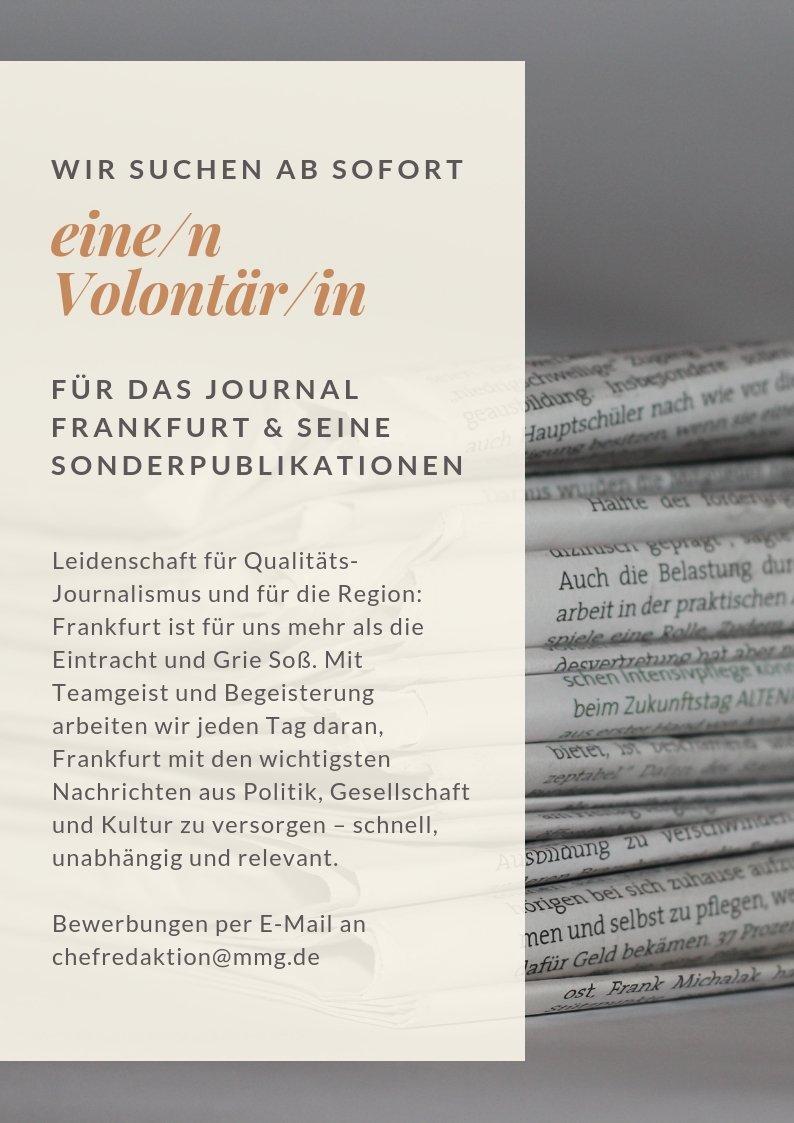 ca868fad2ae308 Journal Frankfurt on Twitter