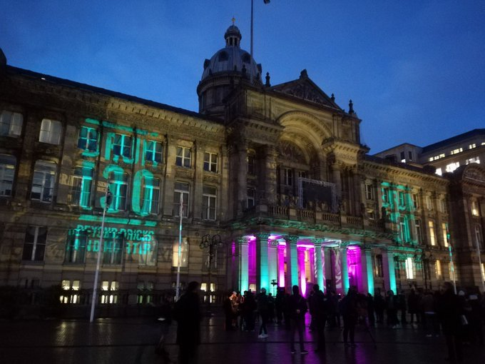 Marking 130 years to the day since #Birmingham became a city. #brum130 @BhamWeekender @BhamCityCouncil Photo
