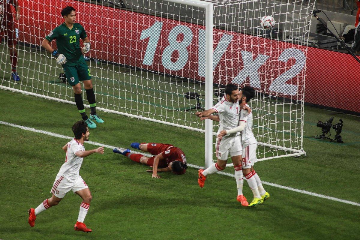 أهداف مباراة الإمارات وتايلاند