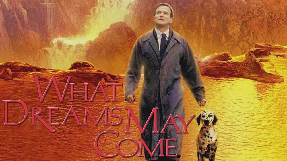 "L O L A on Twitter: ""What Dreams May Come (1998)  เป็นหนังแฟนตาซีที่ภาพสวยมาก  เป็นเรื่องเกี่ยวกับชายคนนึงที่ตายไปแล้วได้ขึ้นสวรรค์  และสวรรค์ของเขาเป็นเหมือนกับภาพวาดของภรรยา  เรื่องนี้มีเนื้อหาเกี่ยวกับสวรรค์นรก การเวียนว่ายตายเกิด  ถึงจะเป็นเรื่องของโลก ..."