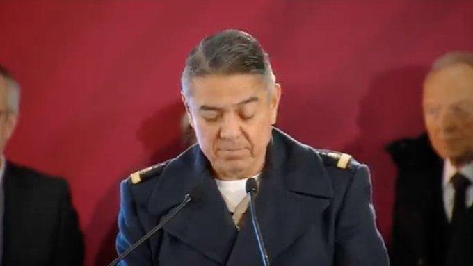 #ConferenciaPresidente El general Arturo Velázquez, informó que las operaciones que realiza la @SEDENAmx han sido eficientes e indicó que el Ejército se agregará a 5 sistemas de ductos más Foto