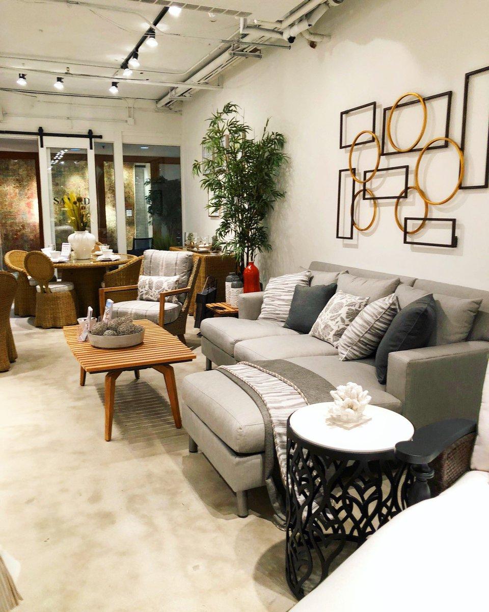 #MonochromaticMonday! Love this greyscale modern interior from @LaneVenture!  #hpmkt #hpmkt2018 #highpoint #furnituremarket #laneventure